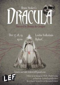 LEF Presents Dracula - poster